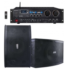 DS-1003US升降调高级8寸卡拉OK专用音箱套餐