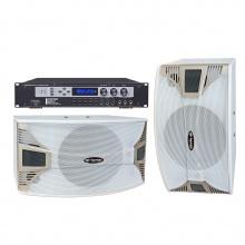 BK620-1蓝牙升降调纯数字高级10寸白色卡拉OK专用音箱套餐