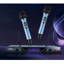 ST-888高级可调频全金属专业KTV无线U段话筒